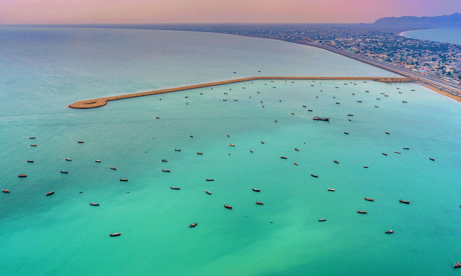 Gwadar's view-Syed Mehdi Bukhari