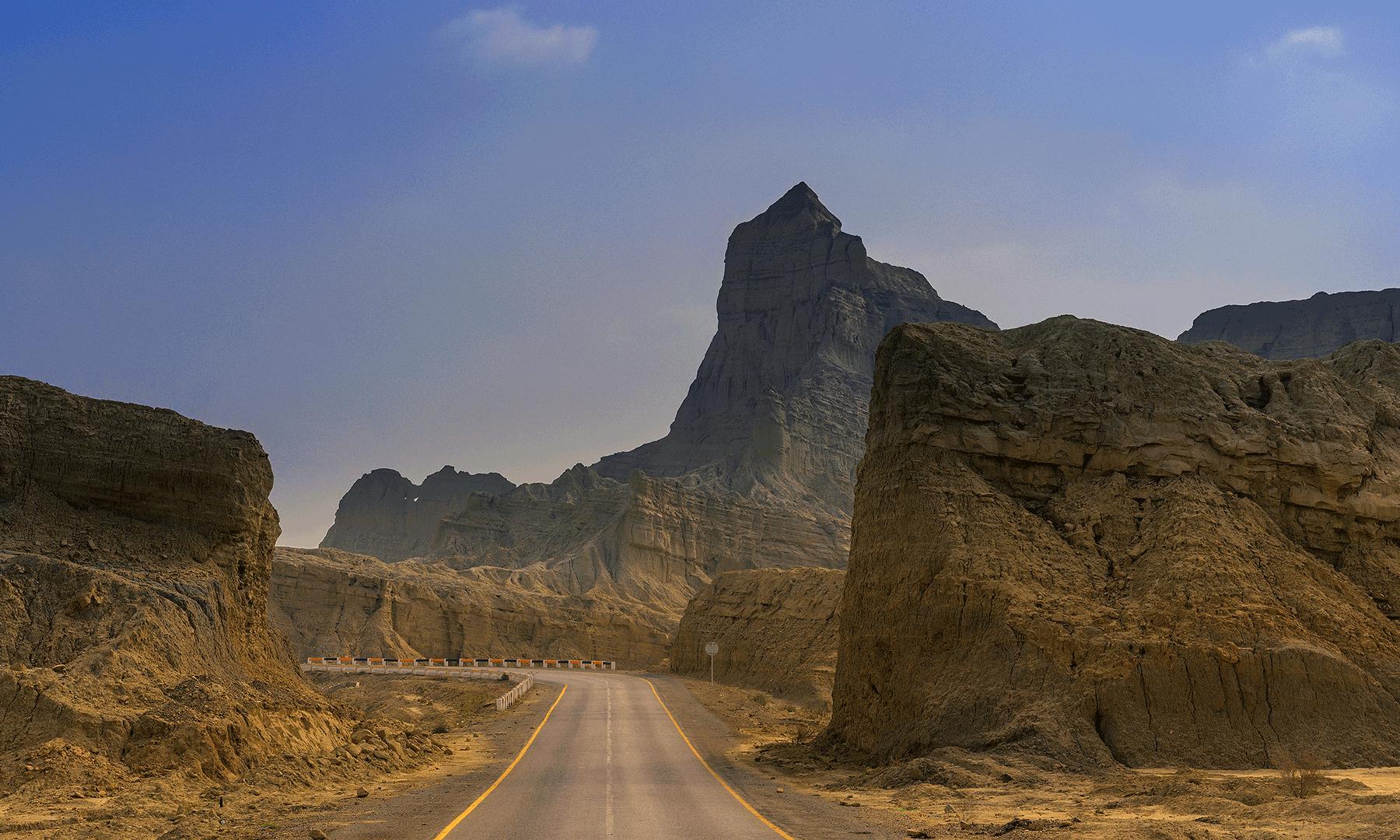 Makran Coastal Highway.