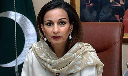 PPP Senator Sherry Rehman. — AP/File