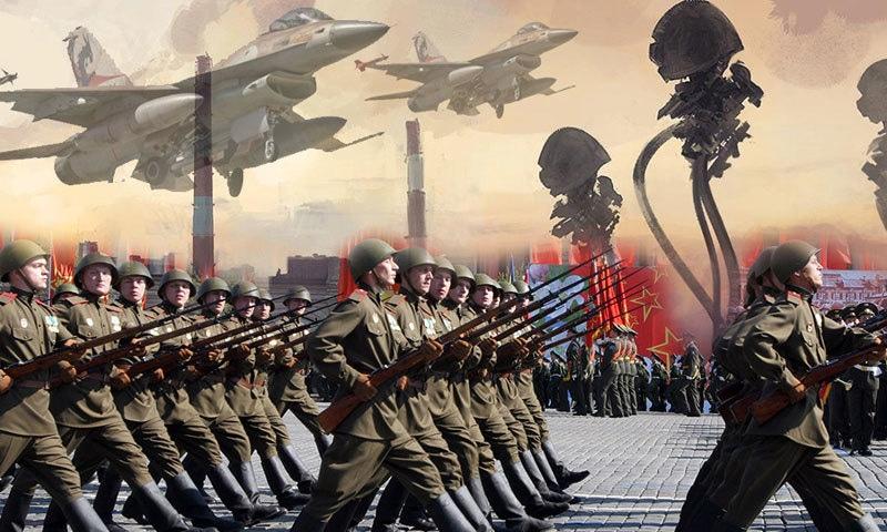 سرد جنگ بظاہر جنگ نہیں تھی لیکن یہ طویل عرصے تک جاری رہی—فوٹو: ایزی کلک نیٹ
