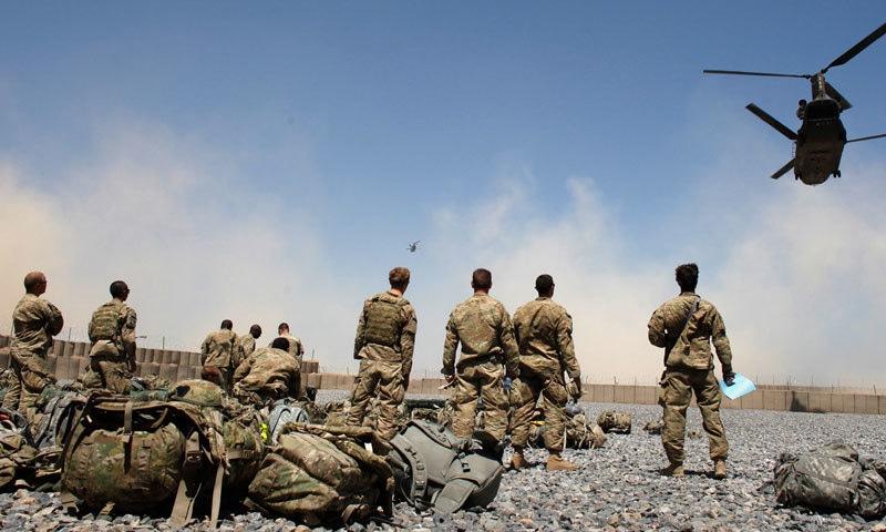 افغان جنگ 10 سال کے لیے تھمی اور بعد میں شروع ہوئی جو اب تک جاری ہے—فوٹو: دی کوئلیشن ریلیشنز