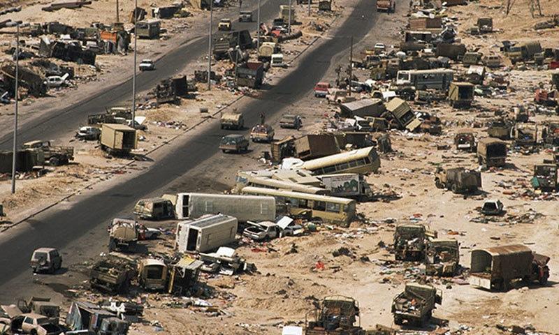 گلف جنگ عراقی جارحیت کا نتیجہ تھی—فوٹو: انسائیکلو پیڈیا برٹینکا