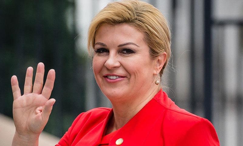 کولندا گرابار کو نوجوان خاتون صدر ہونے کا اعزاز بھی حاصل ہے—فوٹو: امیج کاپ