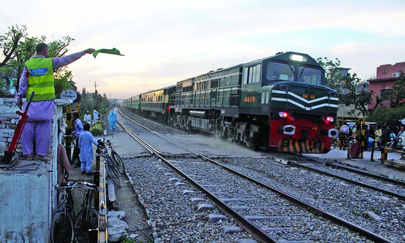 An official says 70pc of seats are usually booked on Lahore-bound trains but in the last two days 100pc had been booked.— Khurrum Shahzada/File