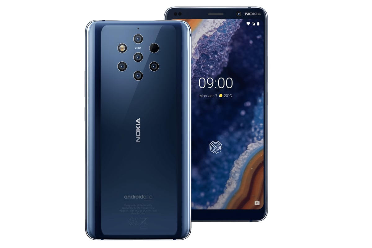 Nokia launches world's first smartphone with a unique five