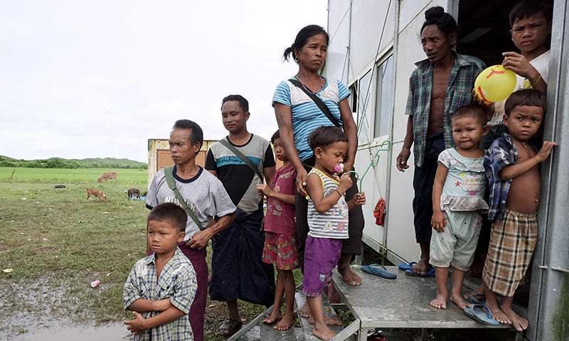 Around 740,000 Muslim Rohingya are living in camps in Bangladesh after they were driven out of Myanmar. — AFP/File