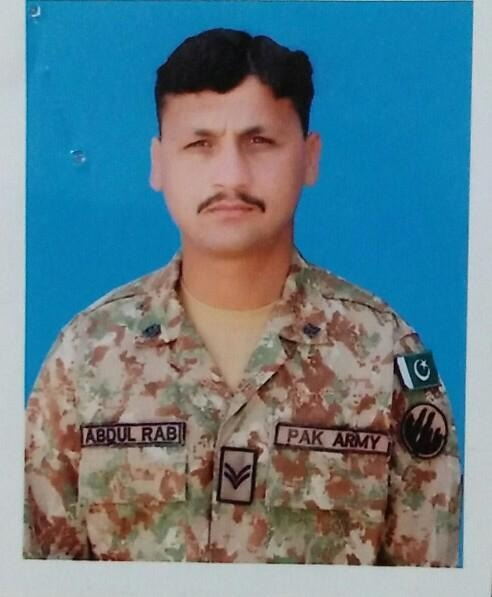 Martyred soldier Hav Abdur Rab. — Photo courtesy ISPR