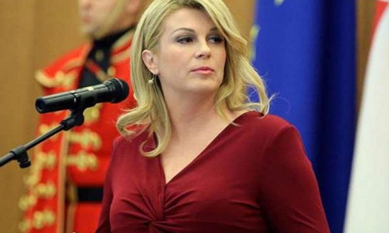 کولندا کو نوجوان ترین خاتون صدر کا اعزاز بھی حاصل ہے—فوٹو: وٹی رومر