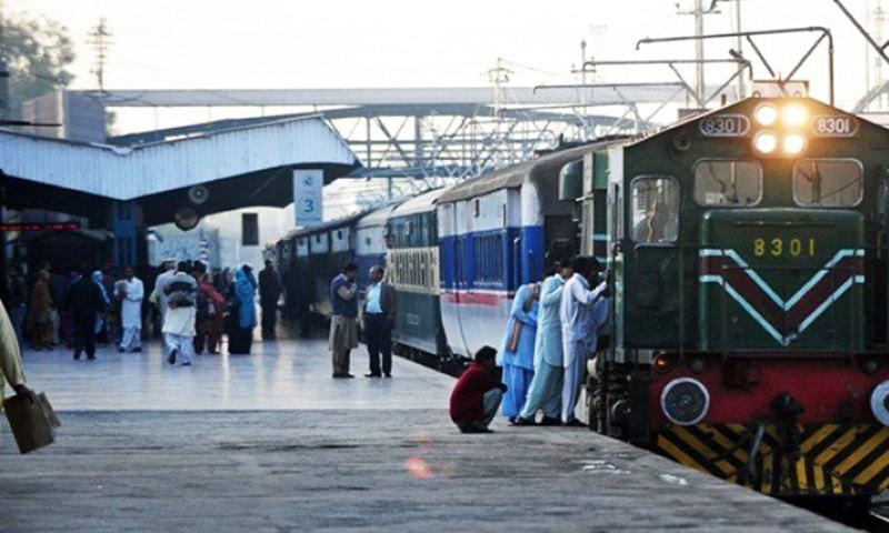 Railways minister appreciates railways' performance over past week. — APP/File