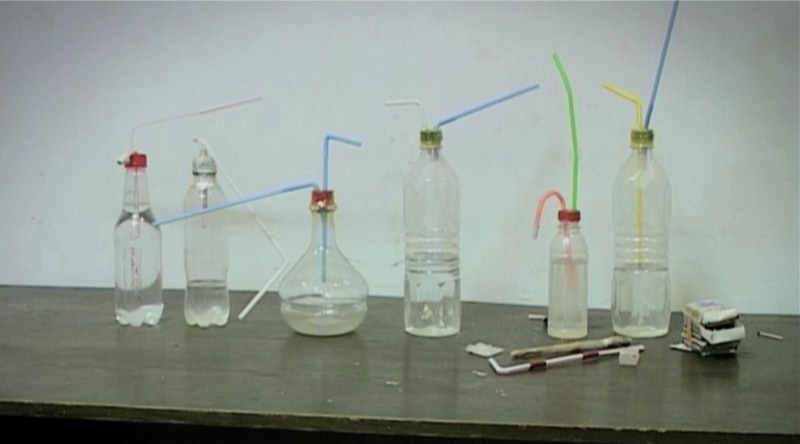 Making crystal meth is a matter of precise ingredients mixed together in precise ratios
