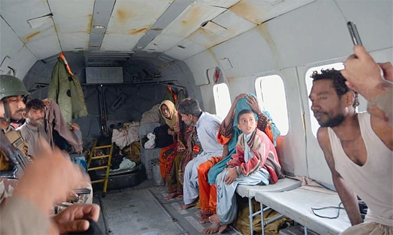 Rains kill eight in KP; hundreds rescued in Balochistan