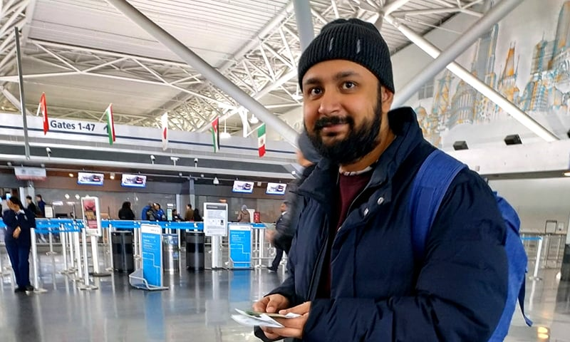 Thousands were stranded due to Pakistan's airspace closures. I was one of them