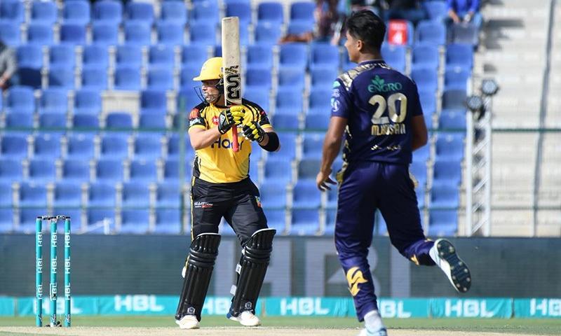 Kamran Akmal scores his maiden half century of PSL 2019. — PSL