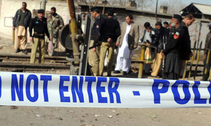 Team of local officials along with a large contingent of police sealed Madressah Abdullah Bin Mubarak and took over administrative control of Masjid Al-Noor in Mundeyki Goraya village near Daska. — Dawn/File