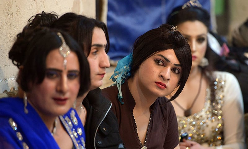 Complainant Neelum says she was being harassed and threatened by thugs hired by another transgender group. — AFP/File