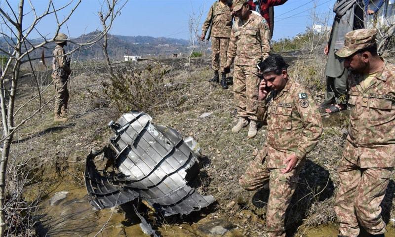 پاکستان نے اپنے دفاع میں 2 بھارتی طیاروں کو مار گرایا تھا—فائل فوٹو: آئی ایس پی آر