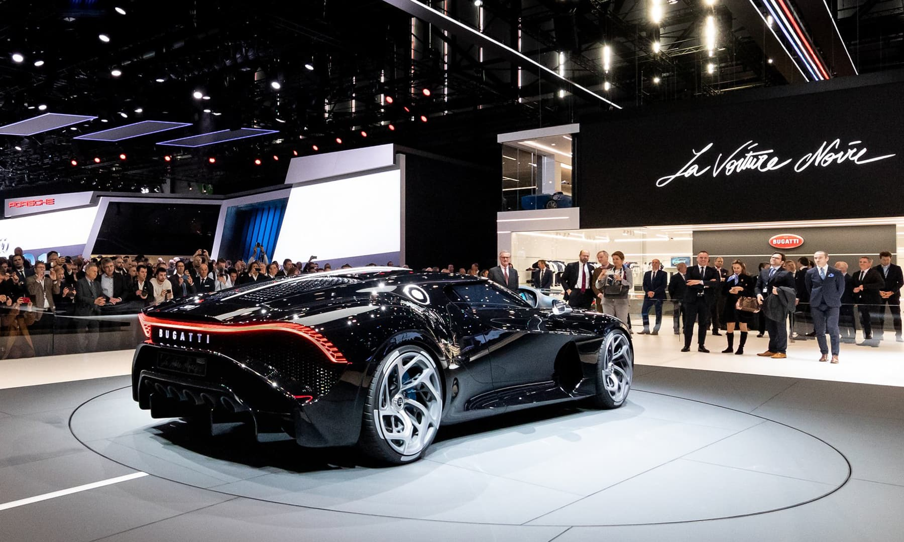 The Bugatti La Voiture Noire Has The Nicest Rear End In: Looking Is Free: Luxury, High-end Rides Abundant At Geneva