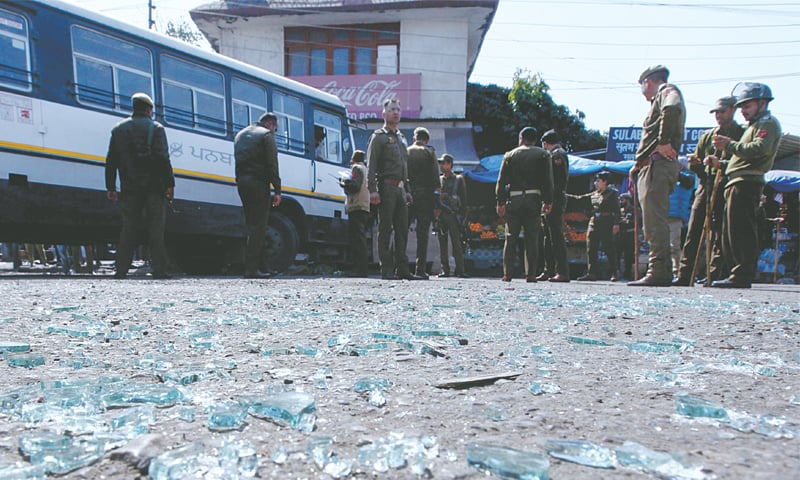 One killed in held Kashmir grenade attack