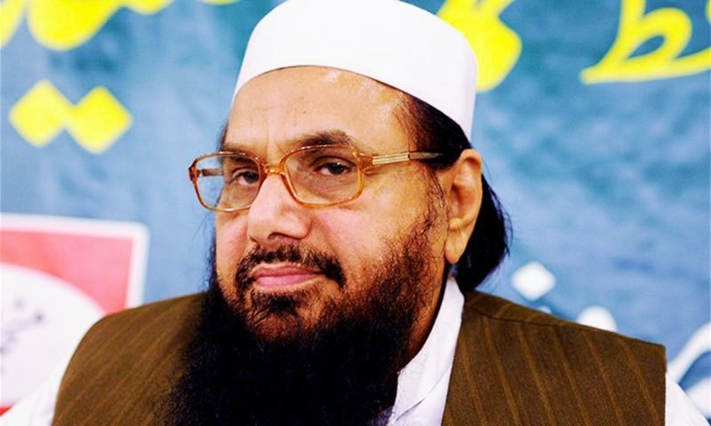 In Lahore, authorities bar JuD chief Hafiz Saeed from leading prayers at Masjid Qadsia. — AFP/File
