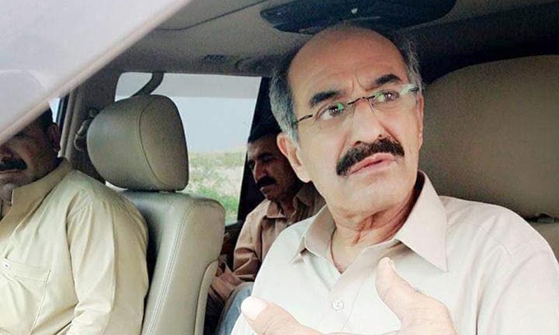 MPA Sardar Masood Ali Khan Luni. — Photo courtesy: @SardarLuni