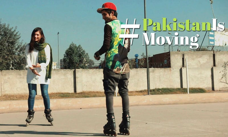 Watch #PakistanIsMoving, a film on Lahore's self-taught skater who is skating against all odds