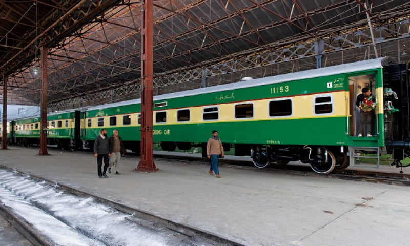 The Pakistan Railways is set to launch a VVIP train — Jinnah Express — from Lahore to Karachi on March 30 after Prime Minister Imran Khan confirmed that he would inaugurate it. — White Star