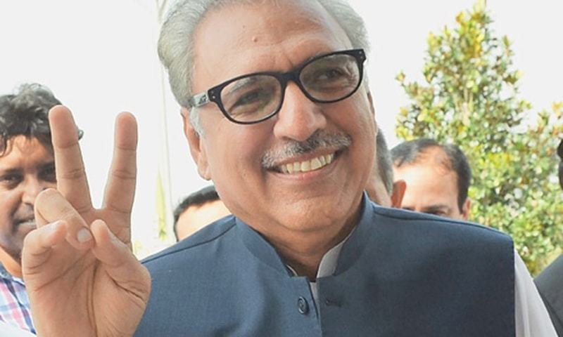 President Dr Arif Alvi will confer civil awards for excellence in various fields of activities.— AFP/File