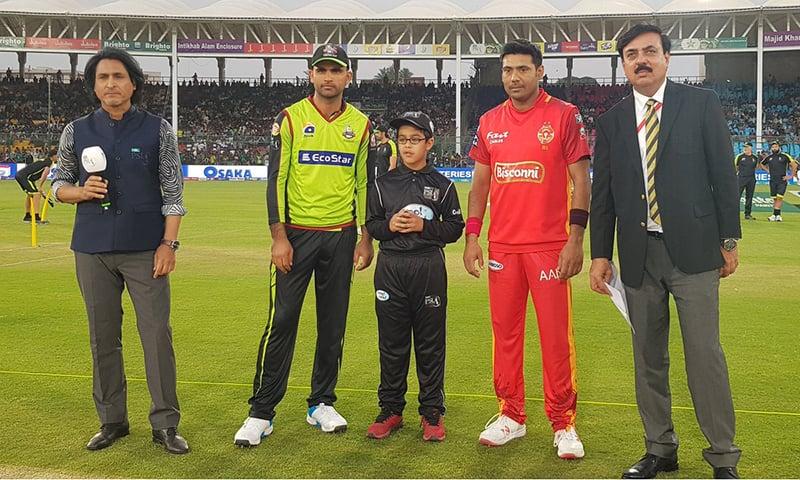 نیشنل اسٹیڈیم، کراچی پاکستان سپر لیگ 2019ء کے آخری 8 مقابلوں کی میزبانی کر رہا ہے—پی ایس ایل ٹوئٹر اکاؤنٹ