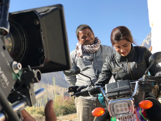 Adnan Sarwar with Sohai Ali Abro in Motorcycle Girl