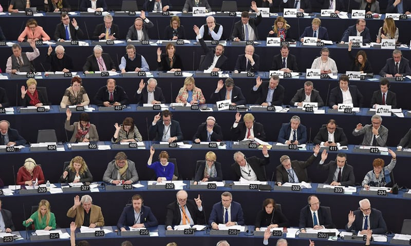 Far-right parties seen nearly doubling seats in EU vote