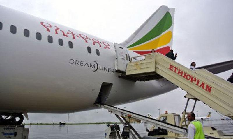 طیارہ ایتھوپیا سے کینیا جارہا تھا— فائل فوٹو/ اے ایف پی