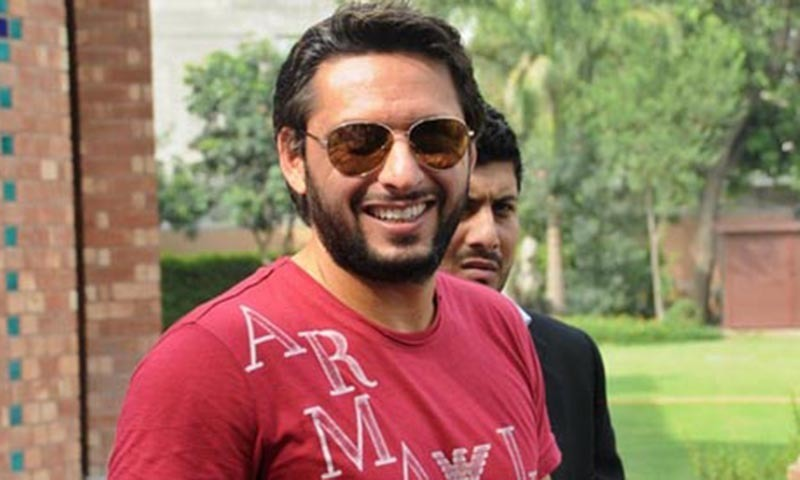 Afridi will be in action for the last time against Lahore Qalandars today.— AFP/File