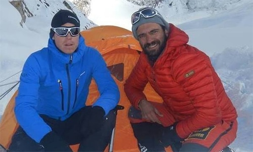 Tom Ballard (L) and Daniel Nardi are believed to have died at Nanga Parbat. — Photo courtesy: Daniel Nardi's Facebook page