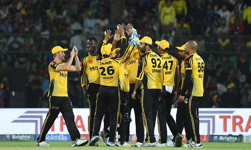Peshawar Zalmi recorded a 61-run win against Karachi Kings in their Pakistan Super League 2019 clash at the National Stadium in Karachi. — PSL Twitter