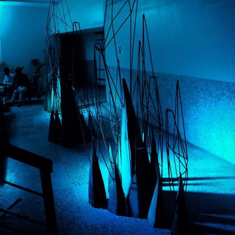 The installation by Changez Bashir