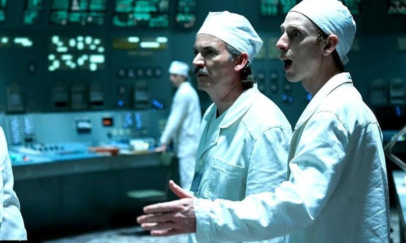 ڈرامہ فلم میں چرنوبل واقعے کے اسباب کو دکھانے کی کوشش کی گئی ہے—اسکرین شاٹ