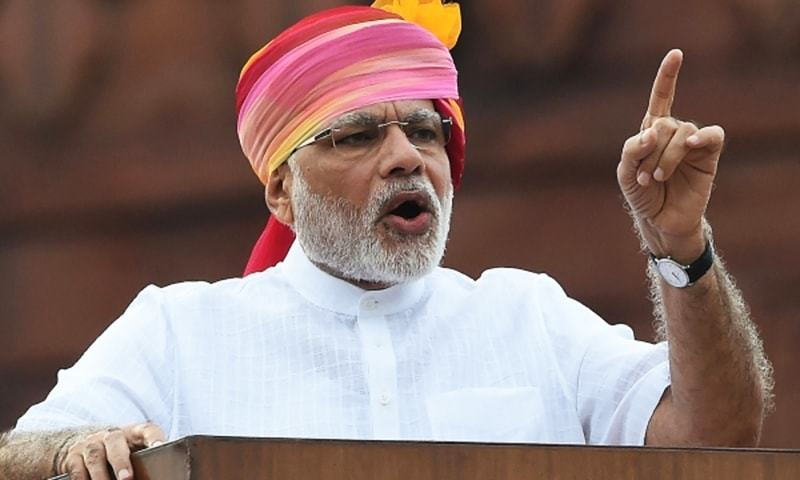 Indian PM Narendra Modi, who has a massive 46.3 million followers on Twitter, also reaches out to political rivals. — AFP/File