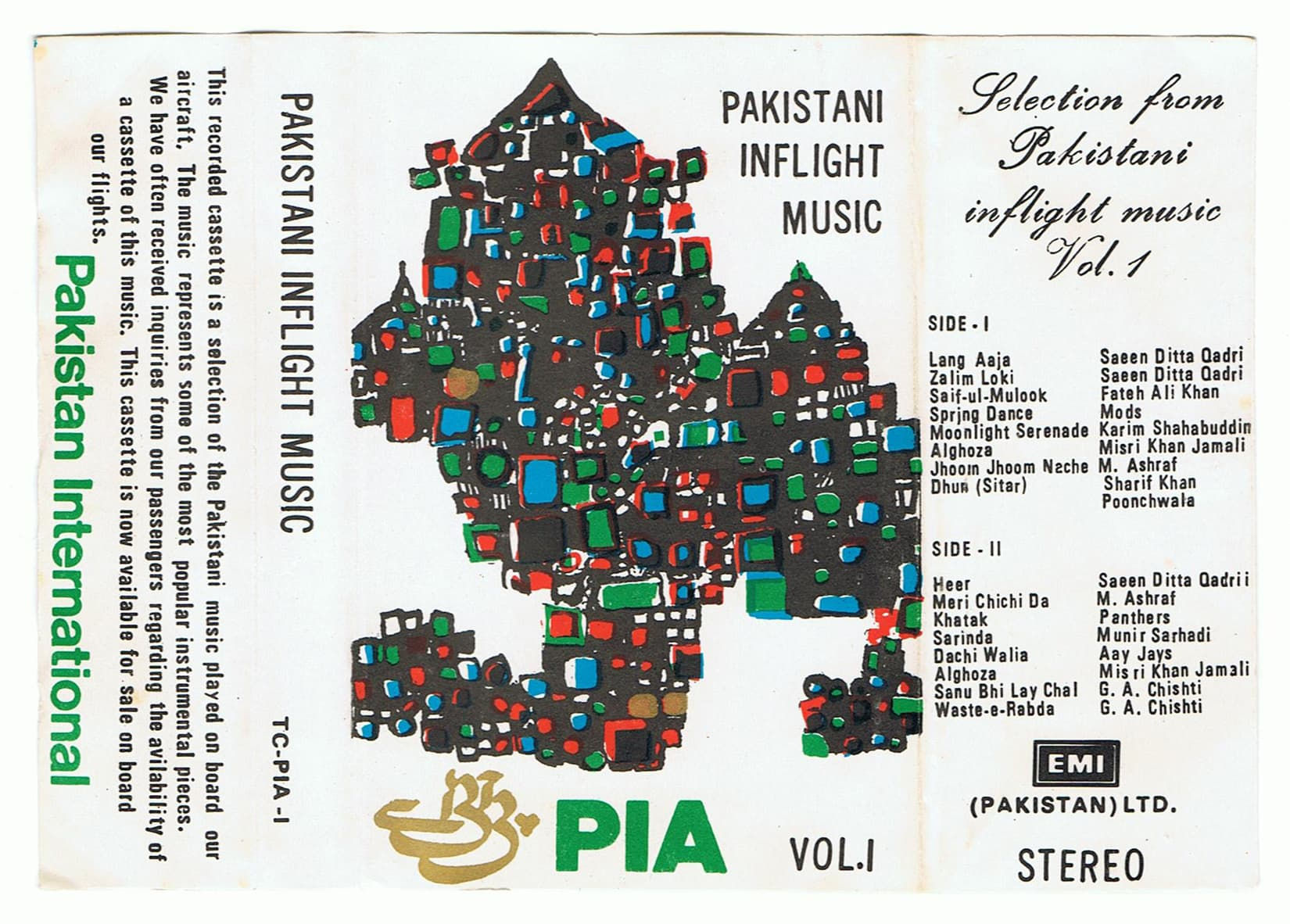 PIA In Flight Music Volume One