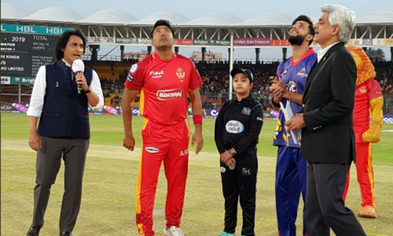 Karachi Kings won the toss and opted to bat first against Islamabad United. — Photo: PSL Twitter