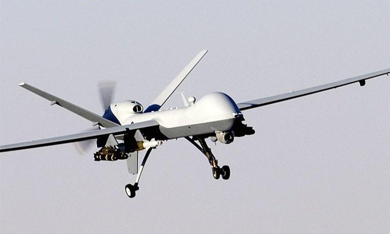 An MQ-9 Reaper drone captured mid-flight. ─ Wikimedia Commons