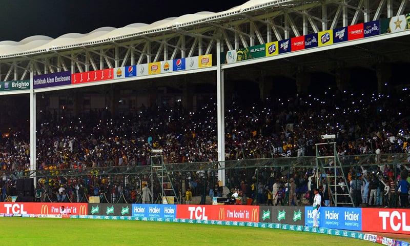 اسلام آباد یونائیٹڈ کا مقابلہ محض کراچی کے 11 کھلاڑیوں سے نہیں تھا، بلکہ یہ 32 ہزار 11 سے مقابلہ تھا—پی ایس ایل ٹوئٹر اکاؤنٹ