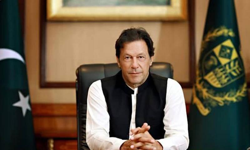 وزیر اعظم عمران خان نے دہشت گردی کے اس واقعے کو اسلامو فوبیا کا شاخسانہ قرار دیا—فوٹو: پی آئی ڈی