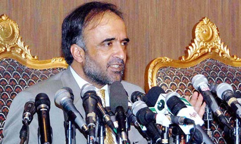 PPP leader Qamar Zaman Kaira accuses PTI of spreading negative propaganda about Charter of Democracy without reading it. — Dawn/File