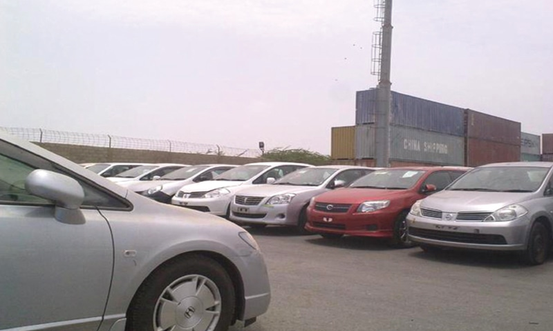 IMPORTED second-hand cars parked at a KPT warehouse. The APMDA chairman claims that number of vehicles cleared in February from the port was very negligible compared to monthly clearance of 4,000-5,000 units.
