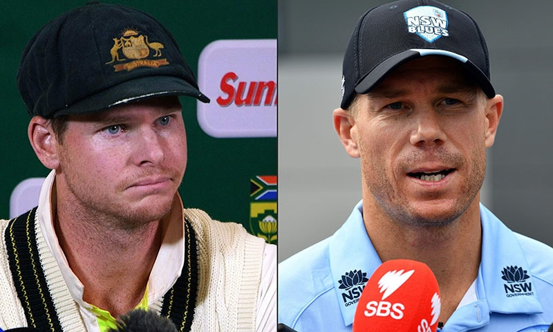 "Steve Smith and David Warner have been welcomed back into the Australian fold with ""hugs and cuddles"" at a team meet-up in Dubai, and said it was like they'd never left. — AFP"