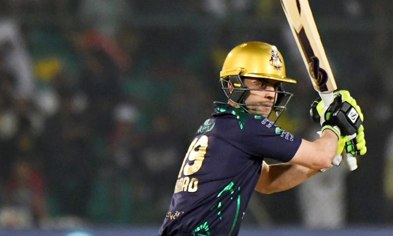 Ahmed Shehzad scored a blistering 58 runs off 51 balls. — PSL