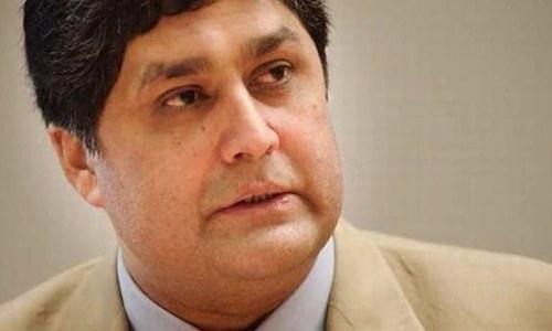 Fawad Hasan Fawad is the former principal secy to ex-PM. Photo: Dawn/File