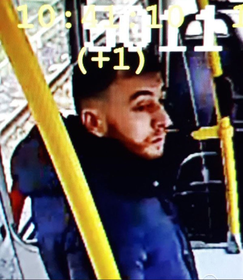 This handout picture released on the twitter account of the Utrecht Police on March 18 shows Turkish-born Gokmen Tanis. — AFP/UTRECHT POLICE