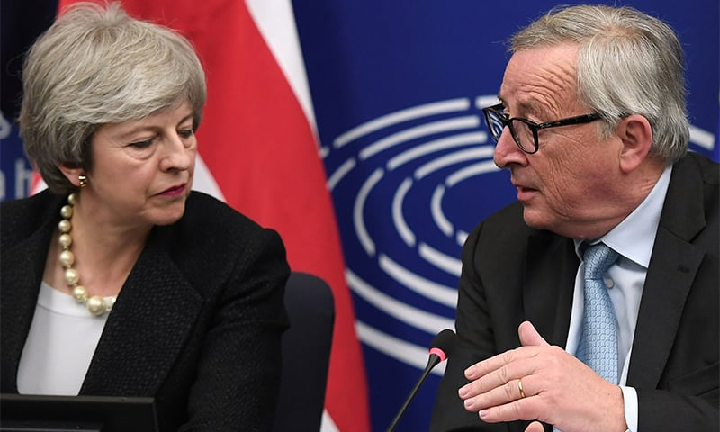 With less than 2 weeks to go until March 29, British Prime Minister Theresa May hopes to twist arms and have another vote on the withdrawal agreement. ─ AFP/File