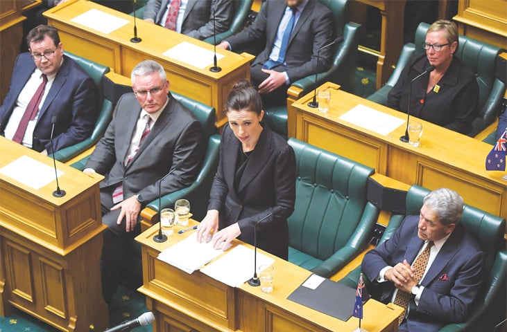 New Zealand PM vows to deprive terrorist of notoriety he craved